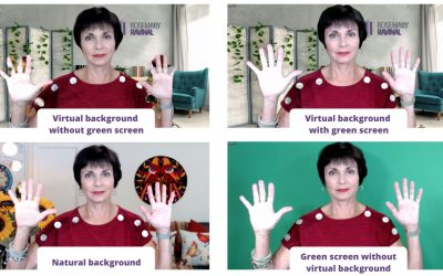 Five reasons you should use a green screen with Zoom.