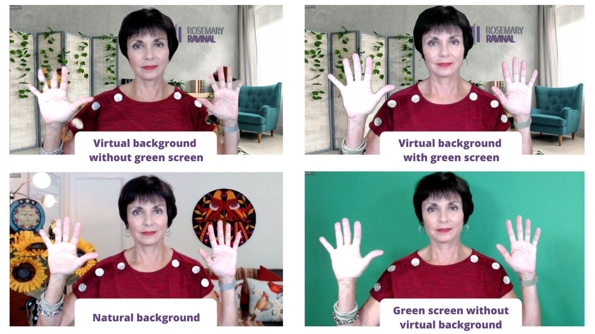 Five reasons you should use green screen on Zoom